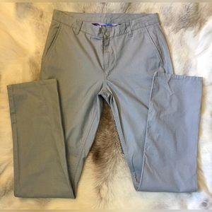 Bonobos men slim straight chinos khakis grey gray